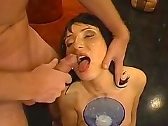 Bukkake, German, Amateur german dirty talk, Txxx.com