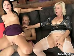 Threesome, Family threesome bisexual dad son, Gotporn.com