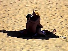 Couple, Beach, Caught, Son caught by mom, Txxx.com