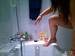 Bath, Hidden, Spy, Hidden camera babbysiter, Xhamster.com