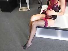 Heels, Stockings, Thai girl in stockings, Xhamster.com