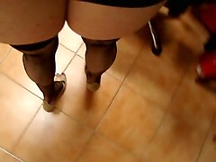 Heels, Milf, Granny stockings masturbation solo, Xhamster.com
