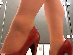 Upskirt, Heels, Stockings, Milf stockings heels, Xhamster.com