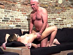 Grandpa, Teen, Old And Young, My big cock, Xhamster.com