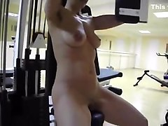 Lesbians in work out shorts, Hclips.com