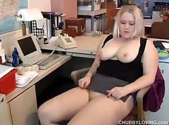 Amateur, Blonde, Chubby, Chubby mom with young boy, Drtuber.com