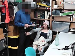 Office, Caught, Cute, Japanese teen have fun with, Nuvid.com