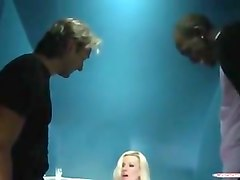 Blonde, Club, Oil, Caught wanking by milf, Xhamster.com