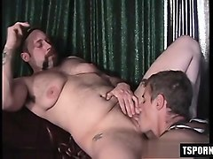 Strapon, Cumshot, Walking around with toy in pussy, Nuvid.com