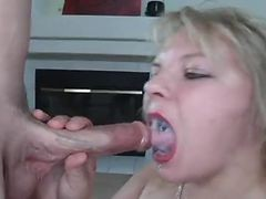 Blonde, Swallow, Swallows cum, Xhamster.com