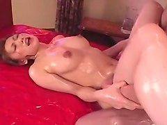 Massage, Ass, Horny japanese housewife massage and fuck, Txxx.com