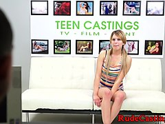 Casting, Teen, Brianna gets fucked on the casting couch, Txxx.com
