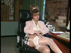 British, Office, Milf, Lesbian pantyhose office, Xhamster.com