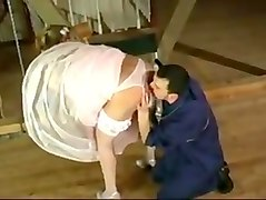 Cheating, Bride, Satin, Dressed then undressed, Txxx.com