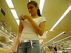 Jeans, Food, Teen, Voyeurhit.com