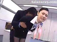 Asian, Stewardess, Stewardess, Gotporn.com