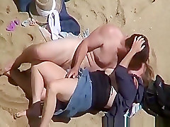 Couple, Beach, Caught, Voyeurhit.com