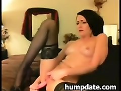Stockings, German mature in stocking, Nuvid.com
