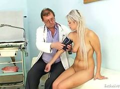 Doctor, Gyno, Teen, Fetish stockings, Gotporn.com
