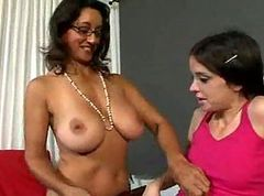 Lesbian, Old And Young, Old and young lesbians enjoying, Xhamster.com