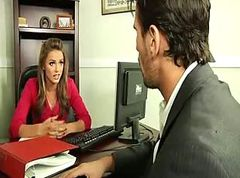 Black, Office, Office lesbian spanking, Gotporn.com