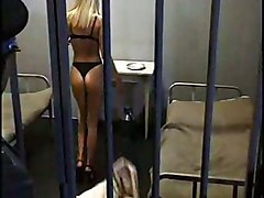 Jail, Hairy jail girl, Tube8.com