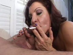 Blowjob, Smoking, Milf, Smoking in boots, Xhamster.com