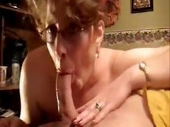 Glasses, Deepthroat, Ass, Mature deepthroat and cum, Drtuber.com