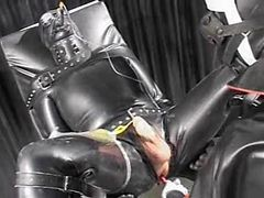 Latex, Couple, Latex bondage sex, Xhamster.com