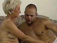 Granny, Deepthroat, Granny anal in a field, Xhamster.com