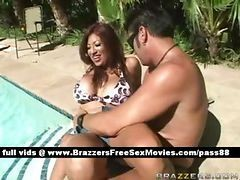 Pool, Couple, Pool stair, Drtuber.com