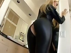 Blonde, Leather, Full leather, Tube8.com
