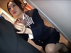 Asian, Stewardess, Asian stewardess, Tube8.com