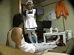 Maid, Japanese maid works with cl search your porn, Xhamster.com