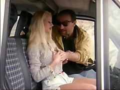 Bus, Blonde, Caught, Daddy caught by daughter and helps hem, Xhamster.com