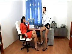 Heels, Secretary, Lingerie, High heels bent over, Pornhub.com