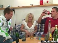 Granny, Party, Threesome, Xhamster.com
