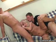 Granny, Party, Threesome, Threesome sister, Xhamster.com