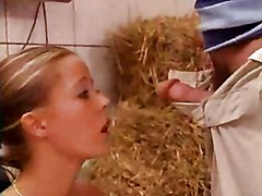 Farm, Babe, German, House in a farm, Redtube.com