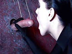 Rough, Leather, Leather blowjob, Redtube.com