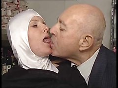 Old Man, Beautiful lady fucked by dirty old man, Xhamster.com