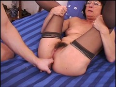 Anal, Granny, Stockings, French german granny, Xhamster.com