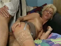 Small Cock, German, Mature, German mature in kitchen sex with son, Drtuber.com