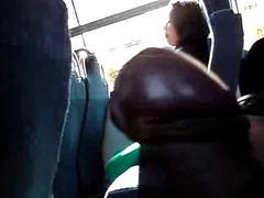 Bus, Chubby, Flashing, In the bus, Xhamster.com