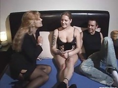 German, Threesome, Amateur threesome, Xhamster.com