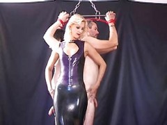 Slave, Male slave licks mistress feet, Xhamster.com
