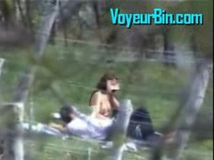 Blowjob, Caught, Outdoor, Dad and son caught by mom, Gotporn.com