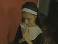 Indian, Nun, Swallow, Mom swallow, Xhamster.com